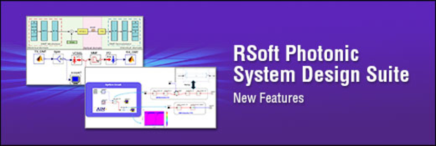 RSoft Photonic System Design Suite
