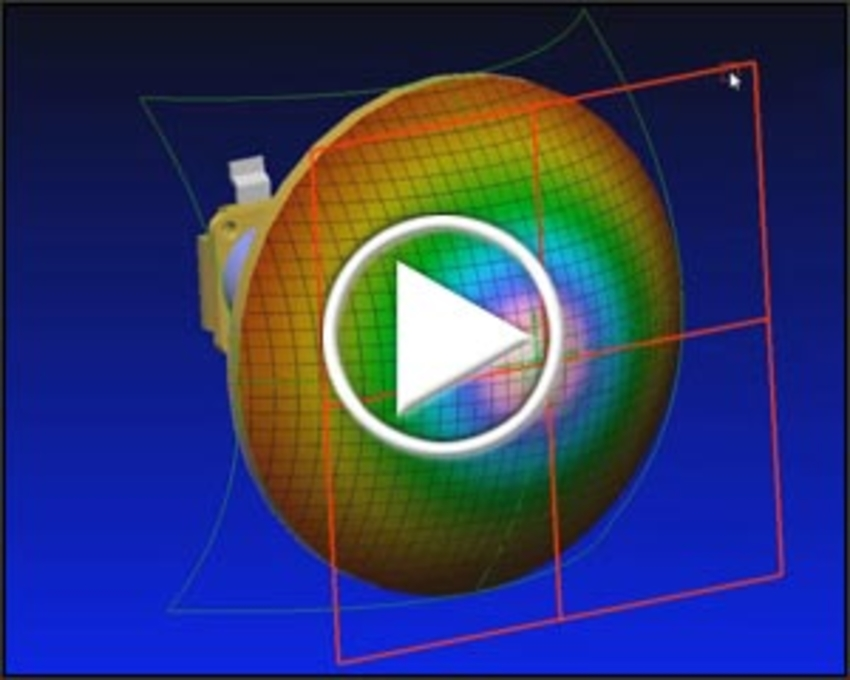 Conformal Receiver Mesh Mapping video