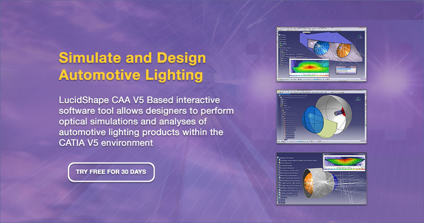 Lucidshape Caa V5 Based For Automotive Lighting