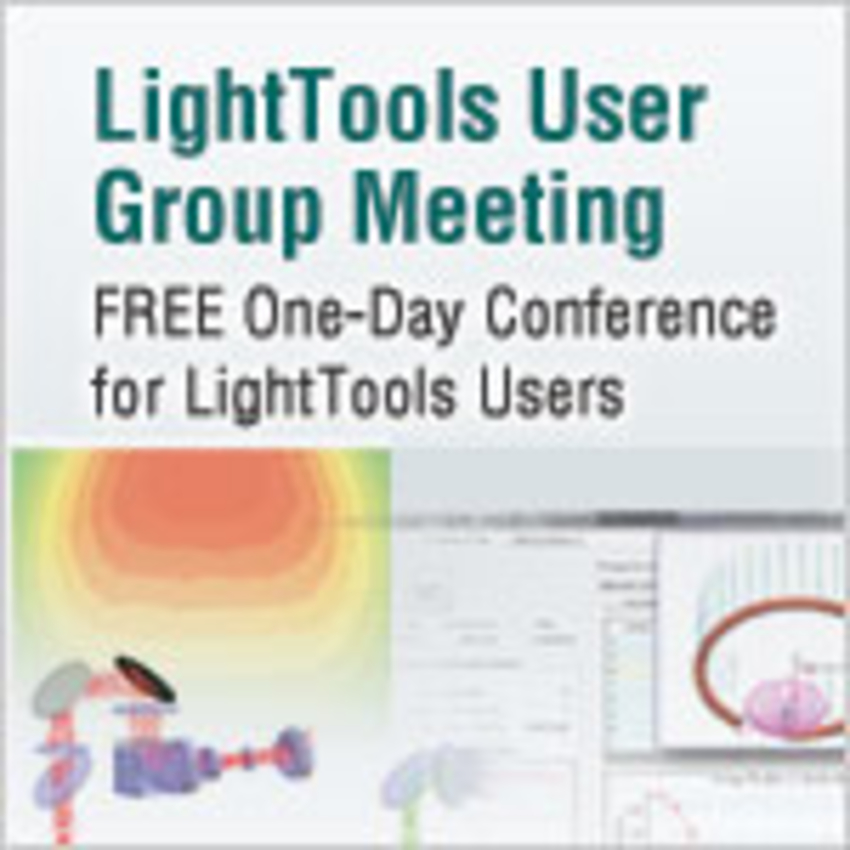 LightTools User Group Meeting