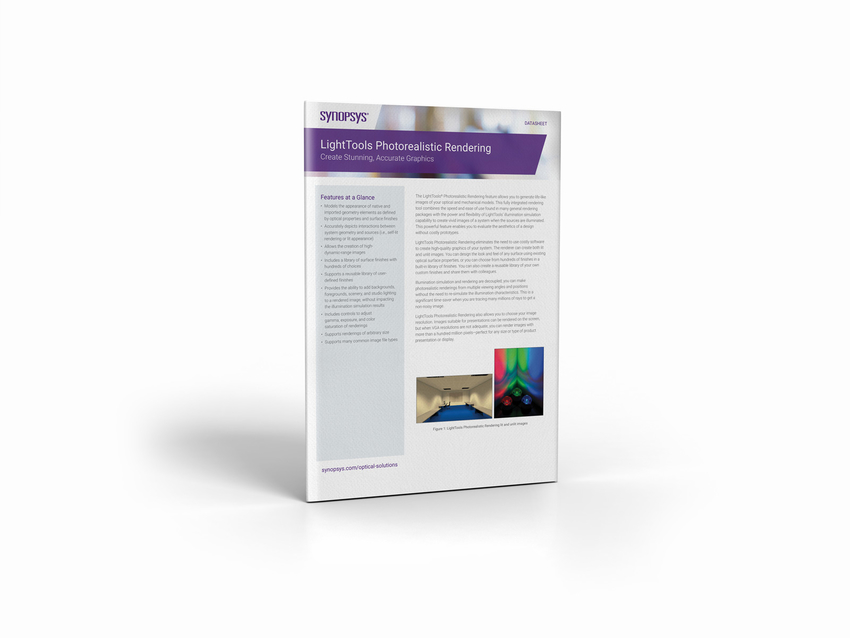LightTools success stories, datasheets, brochures, white papers | Synopsys