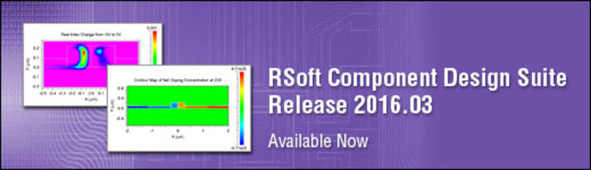RSoft Component Design Suite