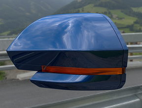 Side mirror indicator blue PRS