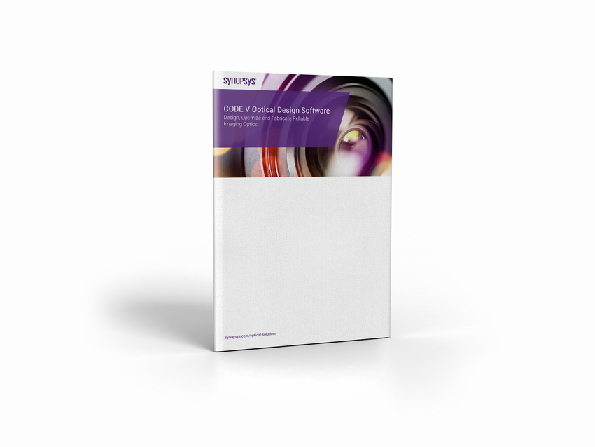 CODE V Optical Design Software Brochure | Synopsys