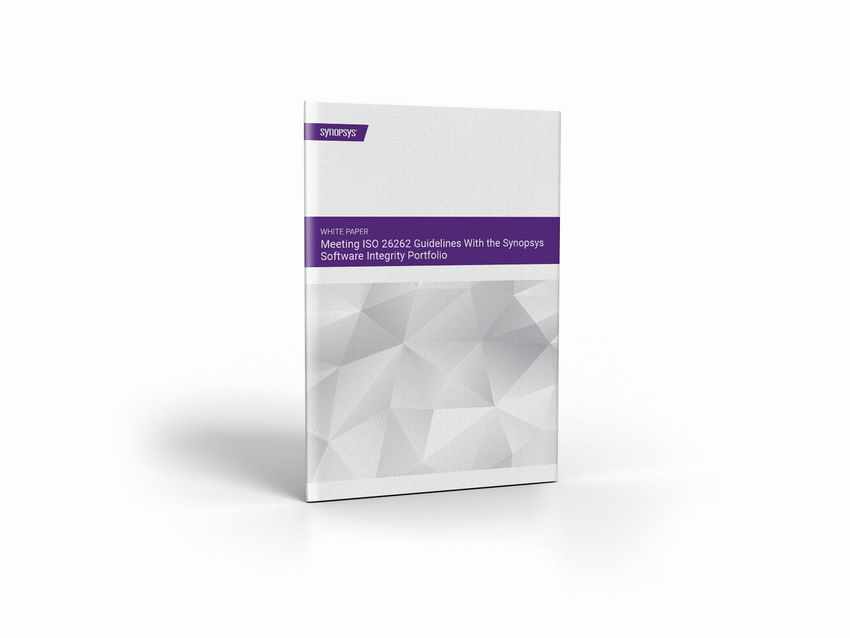 Meeting ISO 26262 Guidelines with the Synopsys SIG Portfolio [Whitepaper]