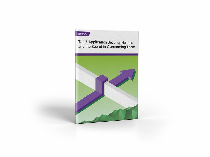 Application security solution hurdles eBook | Synopsys