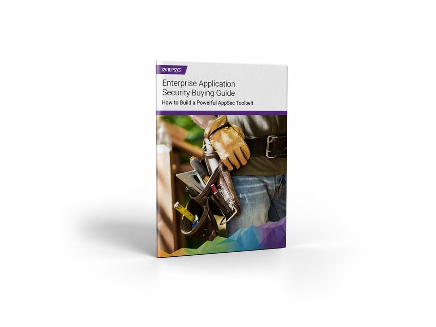 Enterprise application security tools eBook | Synopsys