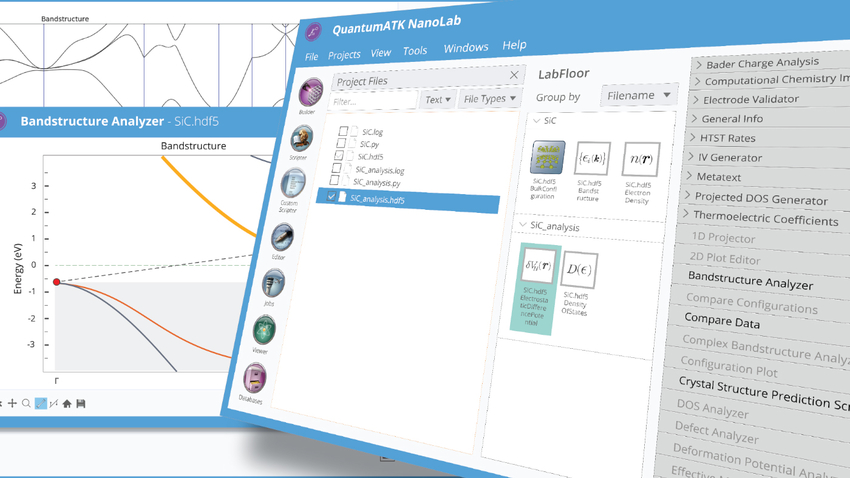 QuantumATK Feature List for Semiconductor