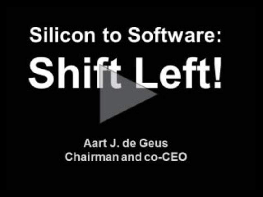 Silicon to Software: Shift Left