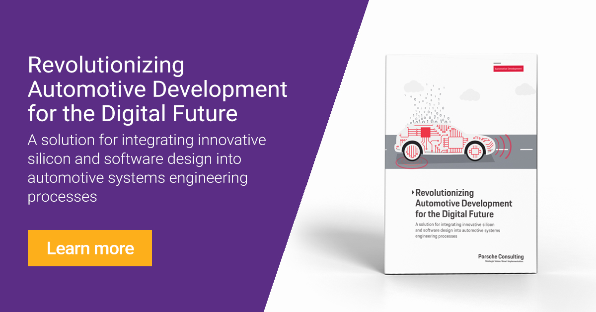 Revolutionizing Automotive Development For The Digital Future Synopsys