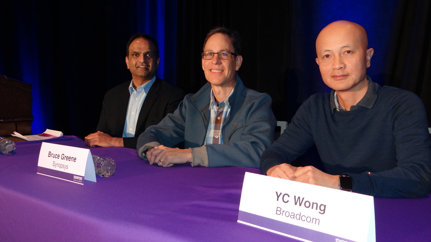 Piyush SanchePiyush Sancheti, Bruce Greene, & YC Wong DVCon Verification Lunch Presentersti, Bruce Greene & YC Wong