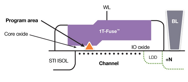 1T-Fuse Bit Cell